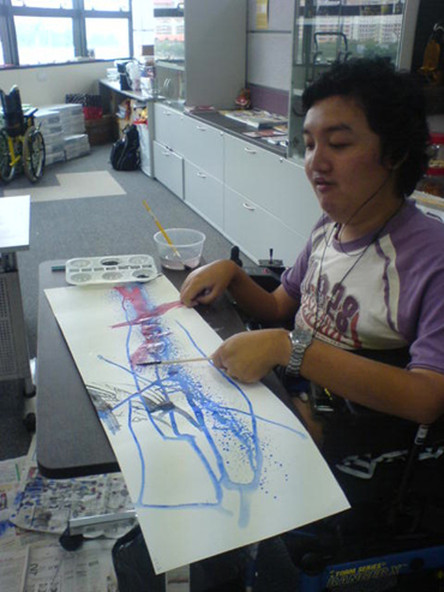 Art Workshop With Muscular Dystrophy Association Of Singapore