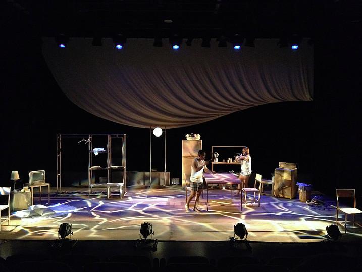 Bleeding Grace Theater Set Design 2012