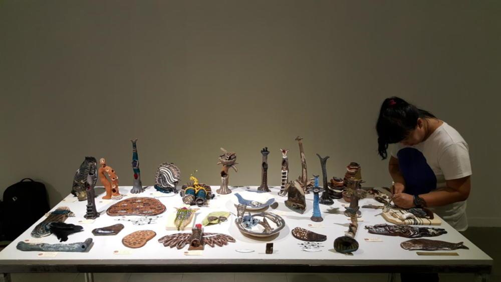 Broken Dreams Without Wings - Ceramic Biennale- Indonesia 2016